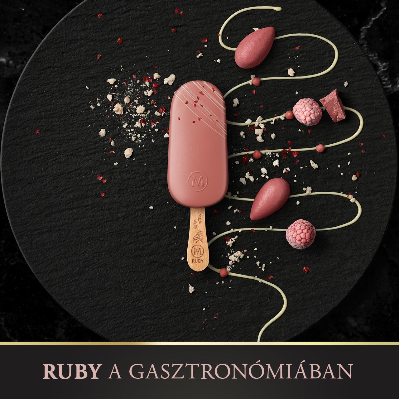 Magnum Ruby a gasztronómiában